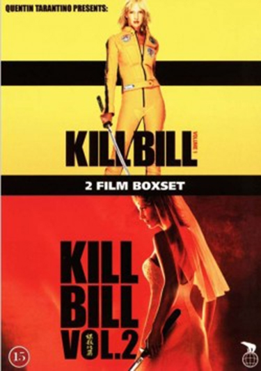Kill Bill: Vol. 1 (2003) + Kill Bill: Vol. 2 (2004) [DVD]