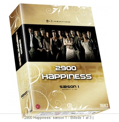 2900 Happiness - Sæson 1 [DVD]