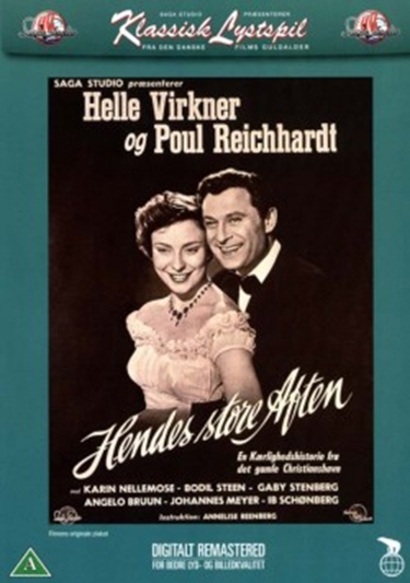 Hendes store aften (1954) [DVD]