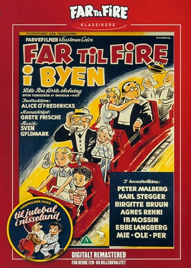 Far til fire i byen (1956) [DVD]