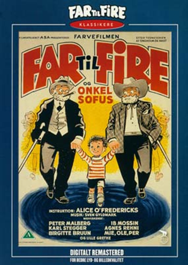 Far til fire og onkel Sofus (1957) [DVD]