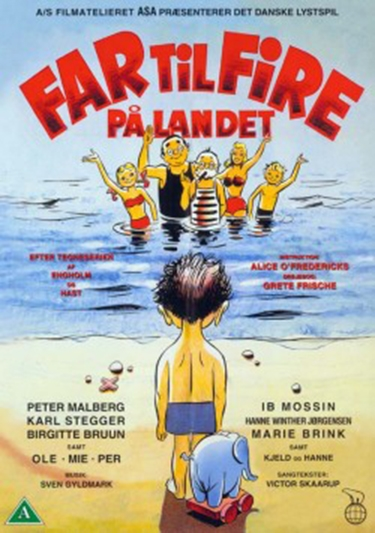 Far til fire på landet (1955) [DVD]
