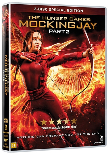 The Hunger Games: Mockingjay - del 2 (2015) (DVD)
