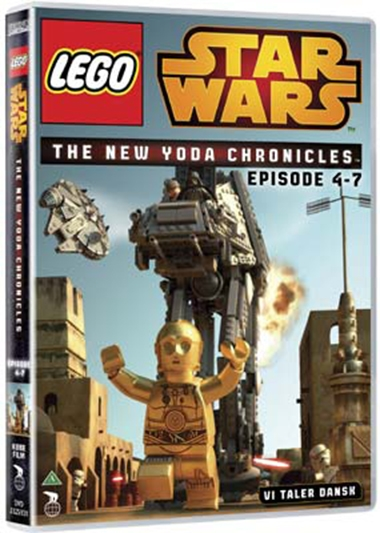 LEGO STAR WARS - THE NEW YODA CHRONICLES EPISODE  4-7 [DVD]