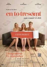 En, to, tresomt (2014) [DVD]