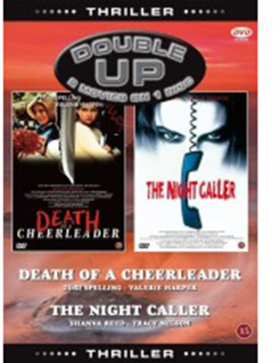 A Friend to Die For (1994) + The Night Caller (1998) [DVD]