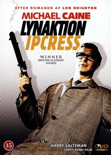 Lynaktion Ipcress (1965) (DVD)