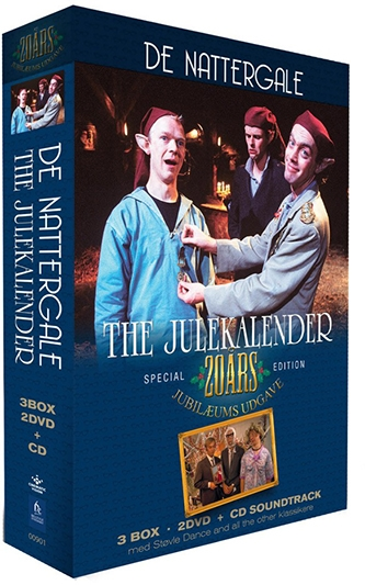 De Nattergale - The Julekalender (1991) [CD+DVD]