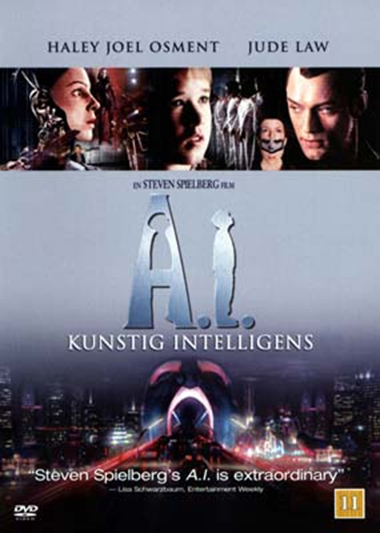 A.I. Kunstig intelligens (2001) [DVD]