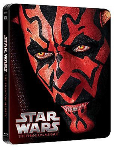 Star Wars: Episode I - Den usynlige fjende (1999) Steelbook [BLU-RAY]