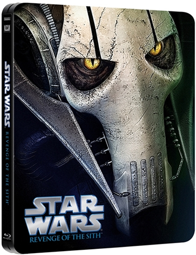 Star Wars: Episode III - Sith-fyrsternes hævn (2005) Steelbook [BLU-RAY]