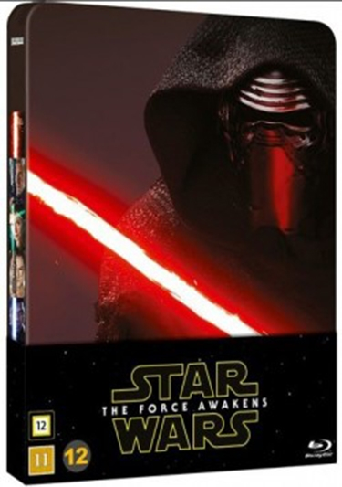 Star Wars: The Force Awakens (2015) Steelbook [BLU-RAY]