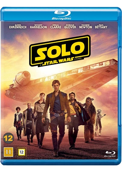 Solo: A Star Wars Story (2018) [BLU-RAY]