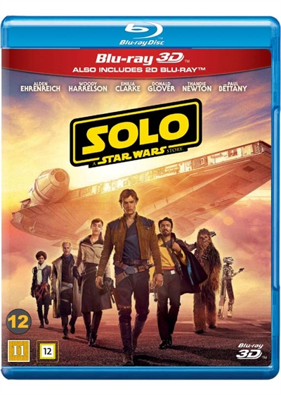 Solo: A Star Wars Story (2018) [BLU-RAY 3D]